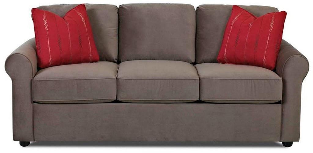 Simple Elegance Silva Sleeper Sofa w Memory Foam Mattress