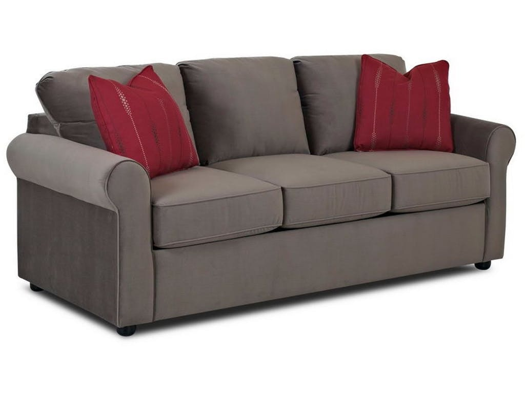 Elegant Simple Elegance Silva Sleeper Sofa W/ Memory Foam Mattress 710049