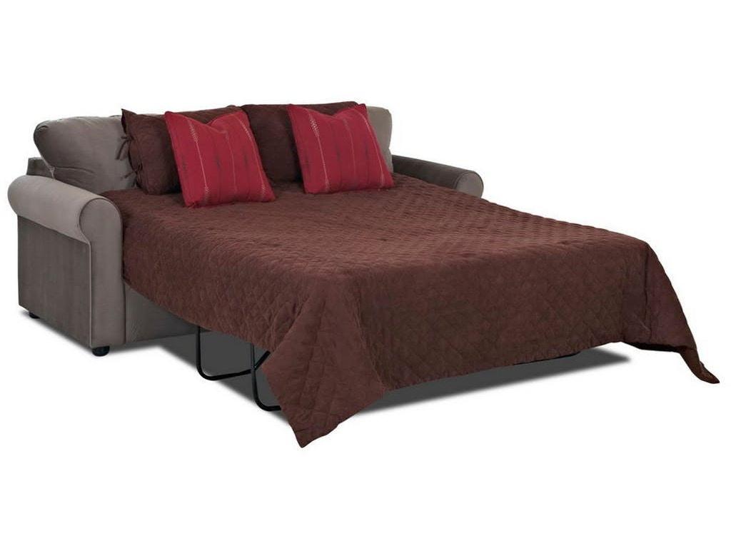 Sleeper sofas with memory foam mattresses - Simple Elegance Silva Sleeper Sofa W Memory Foam Mattress 710049