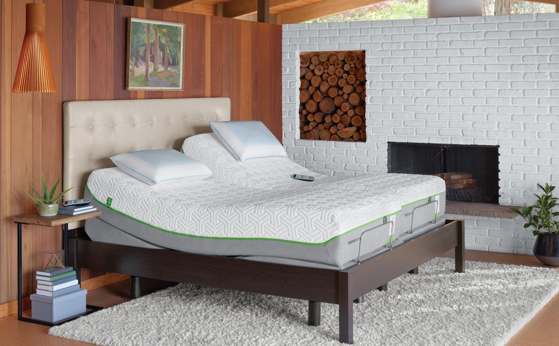 Tempur Pedic Mattresses Tempur Ergo Premier Adjustable Base Queen