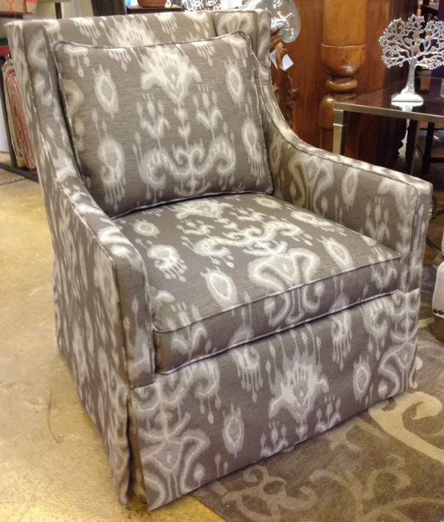 1011 01SW FLORENCE W. Swivel Chair Florence Walnut