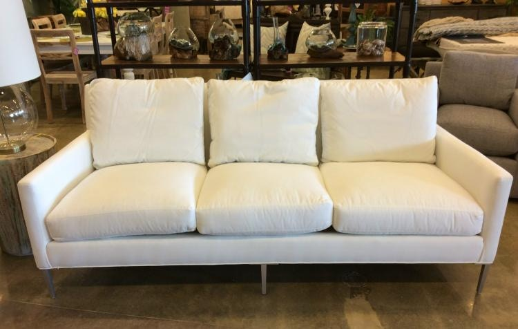 Delicieux Lee Industries Living Room Sofa Crypton Sailcloth White 1299 03 CRYP SAIL  WH At Exotic Home Coastal Outlet