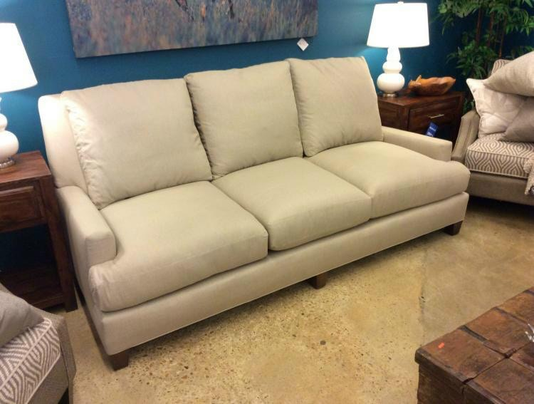 Lee Industries Sofa Crypton Hopsack Linen 3700 03 CRYP HOP LIN