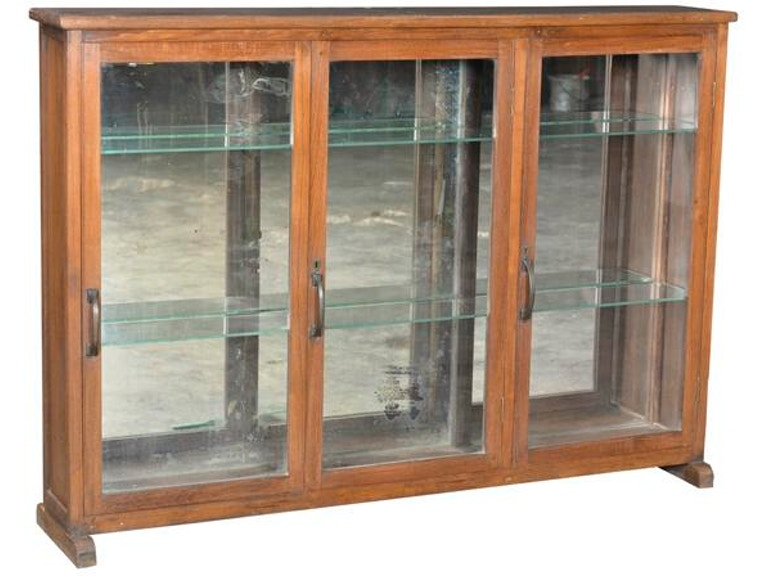Global Imports Cabinet With Glass Doors SAE17021