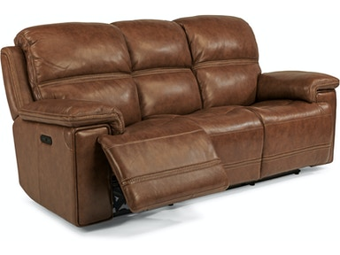 Flexsteel Fenwick Power Headrest Sofa Only 1659-62PH