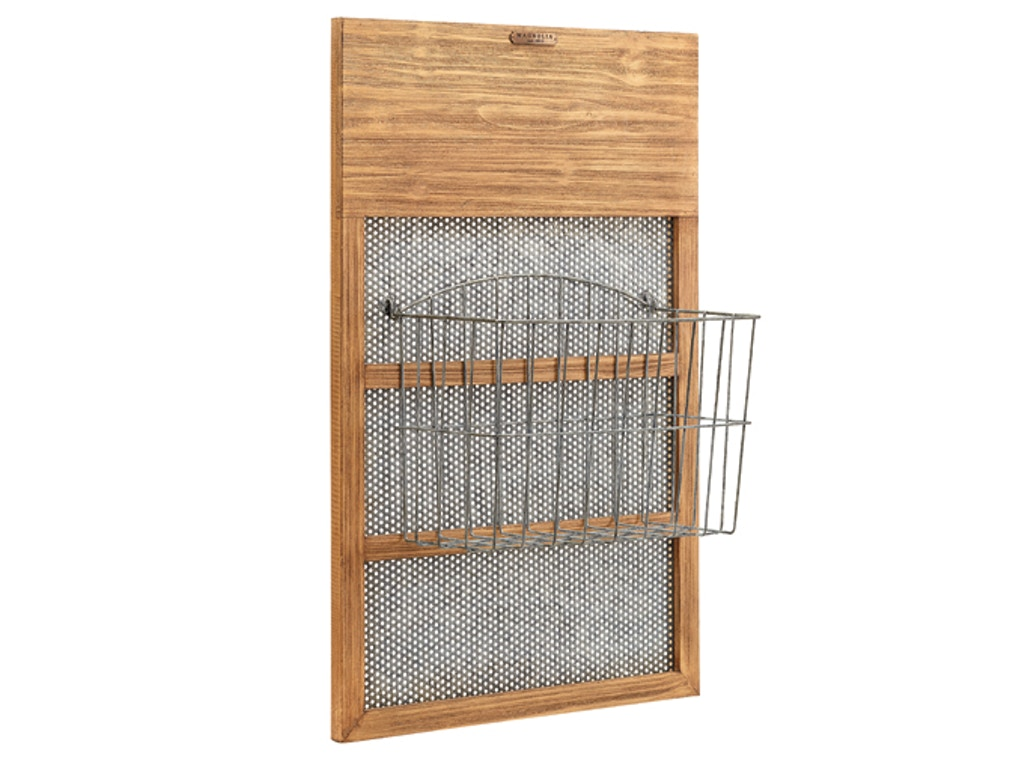 Magnolia Home Accessories Mesh Hanging Letterbox 90901514 Furniture Plus Inc Mesa Az