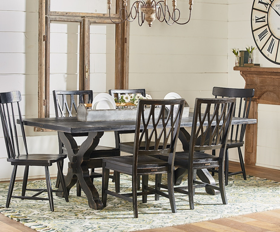 Magnolia Home Dining Room Table Dining Sawbuck Chimney