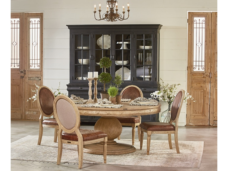Magnolia Home Dining Room Belgian Breakfast Table Setting TABLE & 4 ...