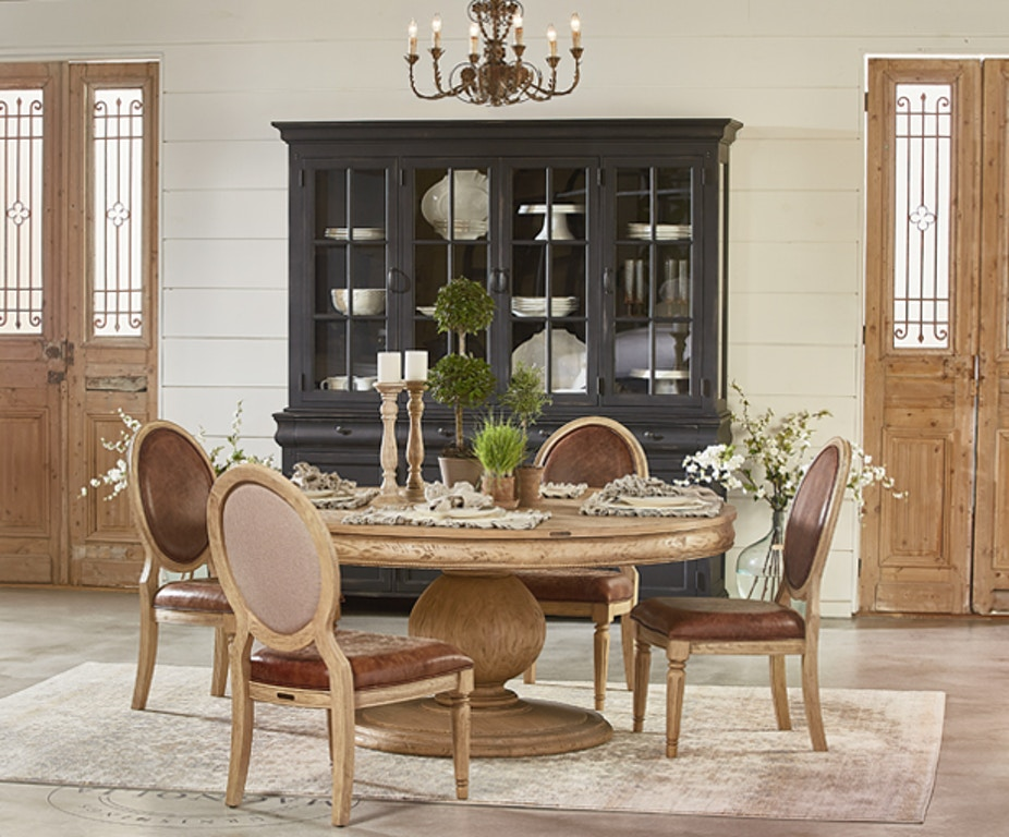 Belgian Breakfast Table Setting TABLE & 4 CHAIRS