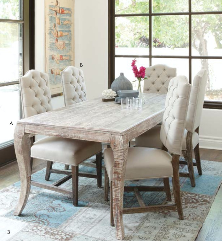 Classic Home Dining Room Aria Dining Table 82 51001573 Furniture