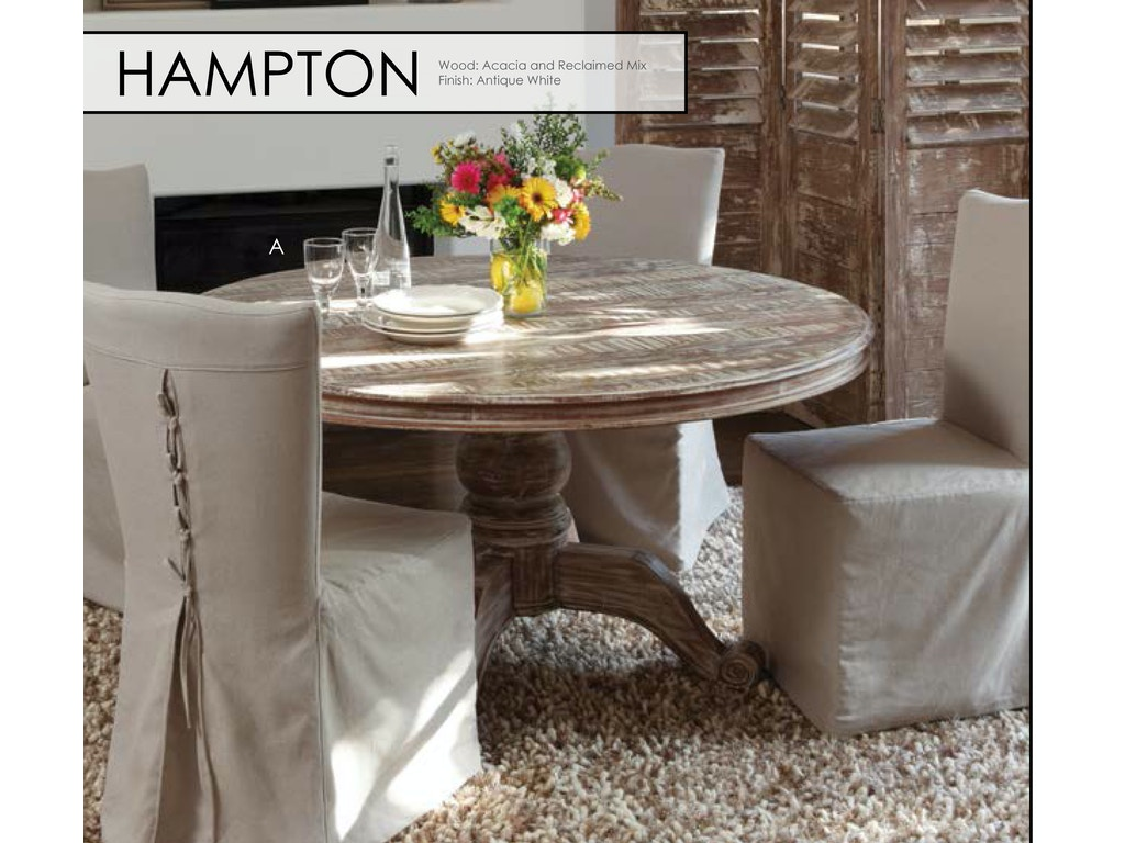 Classic Home Hampton Round Dining Table 60  51001261 Hampton Round Dining  Table 60  51001261Dining Room Tables   Furniture Plus Inc    Mesa  AZ. Arlington Round Sienna Pedestal Dining Room Table W Chestnut Finish. Home Design Ideas
