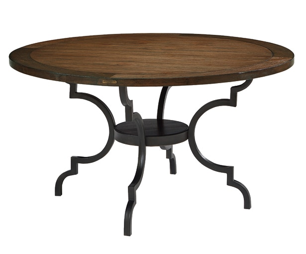 Magnolia Home TABLE,BREAKFAST WOOD TOP W/METAL BLACK 3010101C