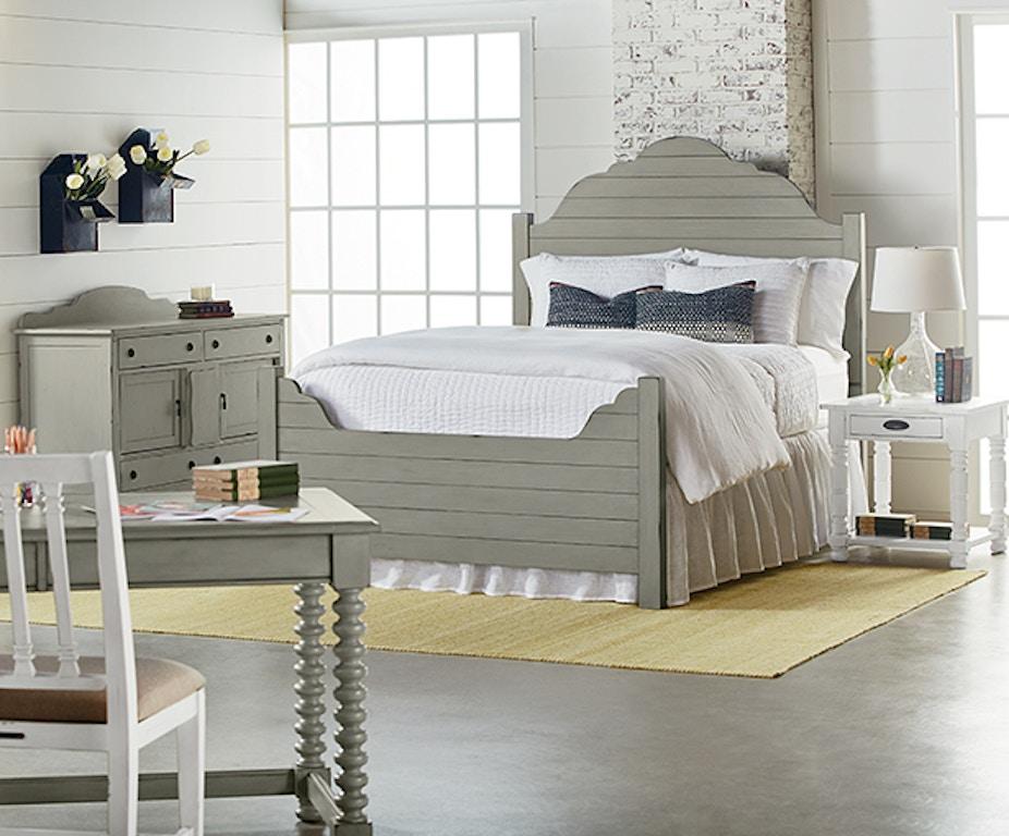 Magnolia Home Bedroom Shiplap Bed Queen Complete 4070101b