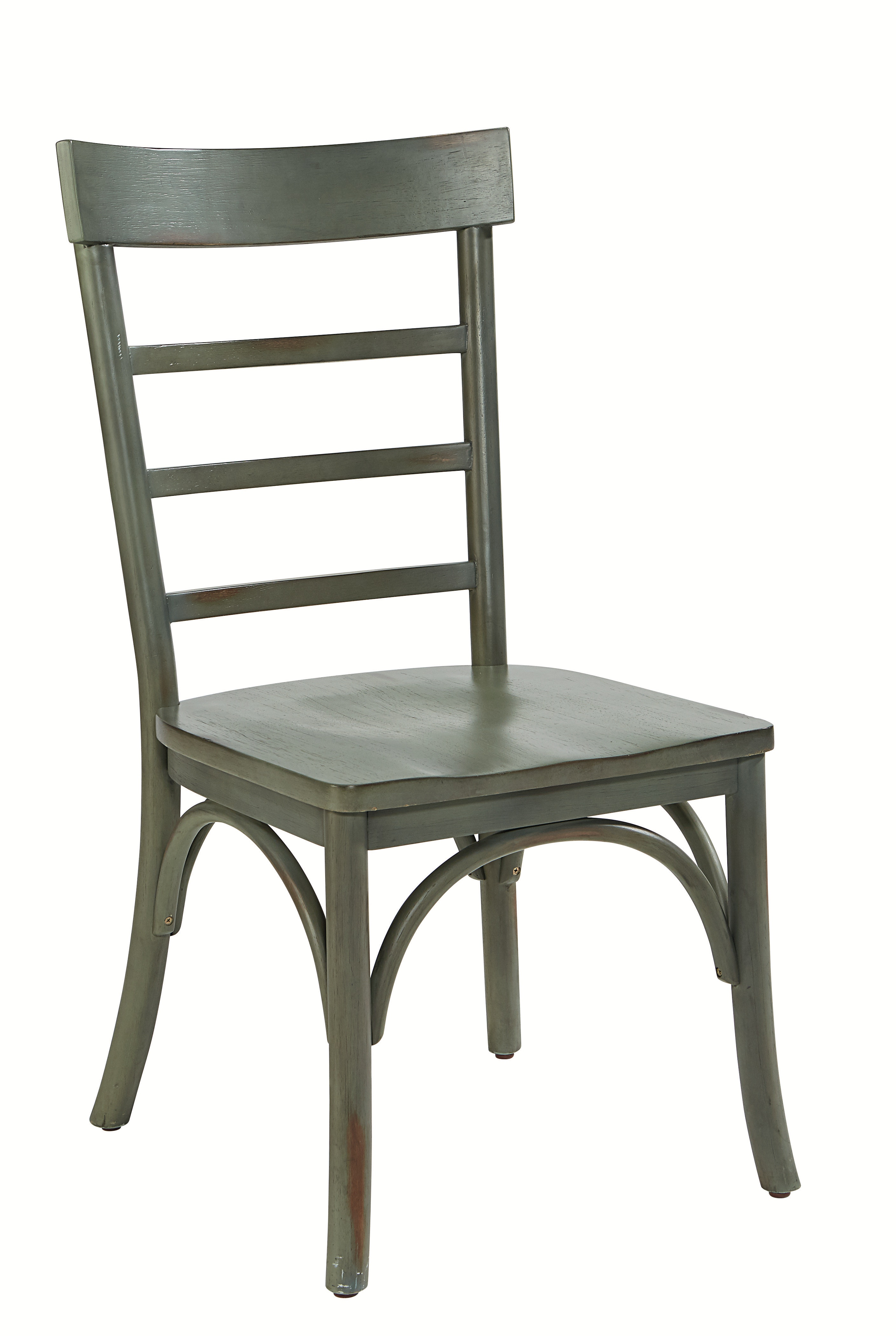 Magnolia Home Top Tier Pedestal Table Setting 6010601S TABLE SETTING 4  CHAIRS U0026 TABLE