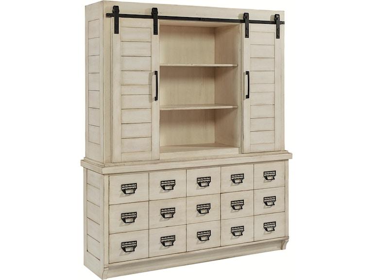Magnolia Home Buffet Hutch Archive Antique White 6010209g 29