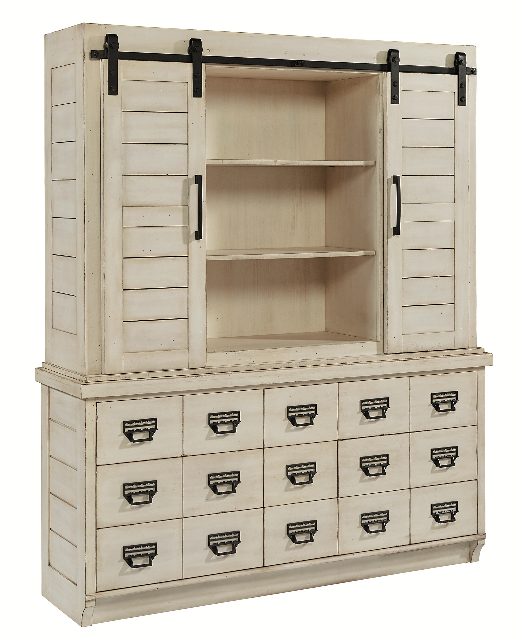 Magnolia Home BUFFET/HUTCH,ARCHIVE ANTIQUE WHITE 6010209G 29