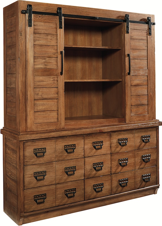 Magnolia Home Dining Room Buffet Hutch Archive Bench