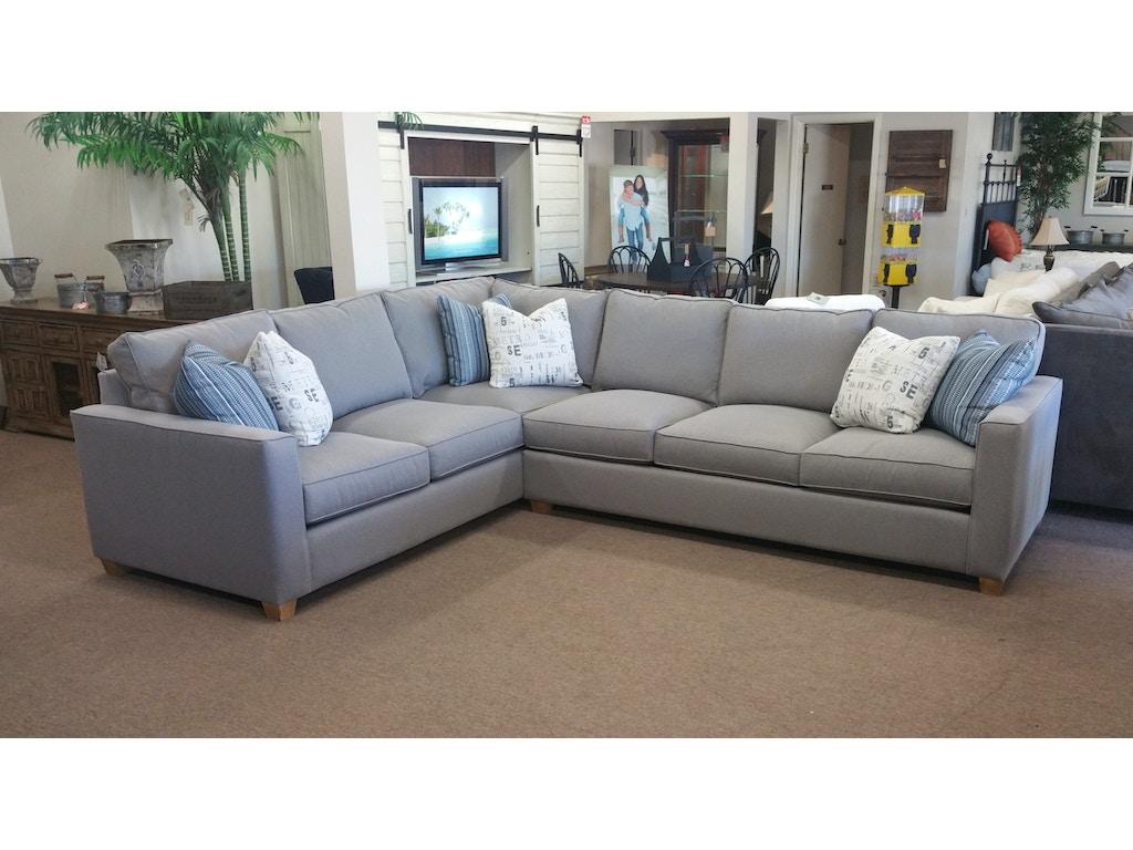 Fairmont Designs Living Room Stephanie Sectional Furniture Plus Inc Mesa Az