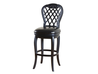 American Heritage Billiards Dahlia Black Stool 54033