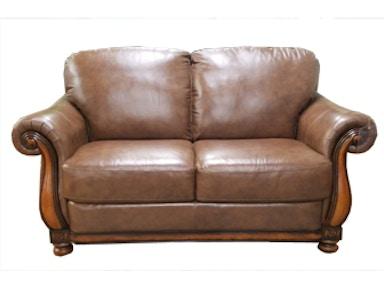 Futura Leather Feitas A Mao Loveseat 12576
