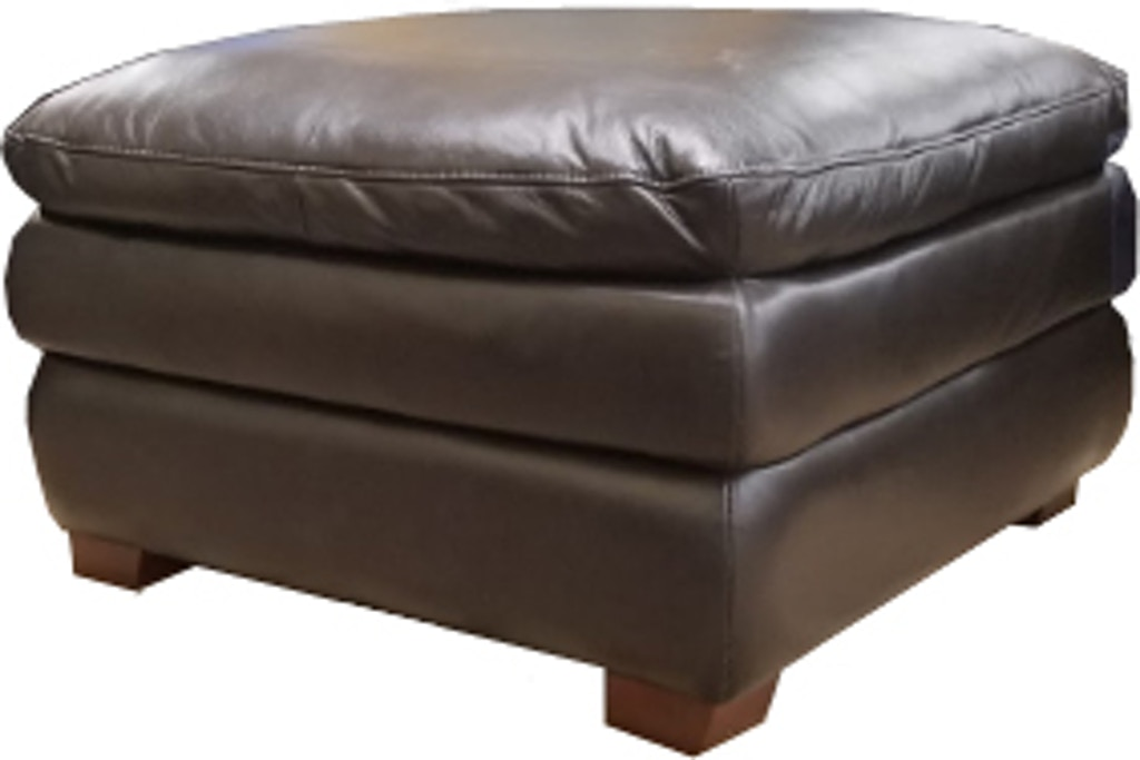 Amazing Futura Leather Living Room Onondaga Leather Ottoman 12591 Creativecarmelina Interior Chair Design Creativecarmelinacom