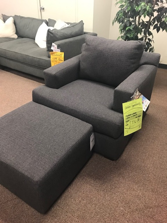 Surprising Clearance 736 Chair And Ottoman 9378369927 China Towne Ibusinesslaw Wood Chair Design Ideas Ibusinesslaworg