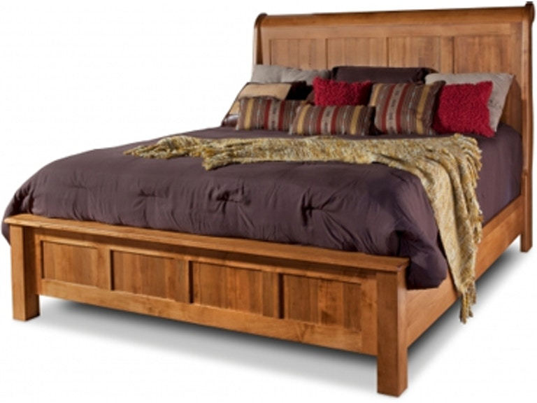 Daniels Amish Bedroom Lewiston Sleigh Bed L China Towne - Daniel's amish bedroom furniture