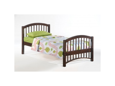 NE Kids Zest Molasses Youth bed Cherry Finish 96213