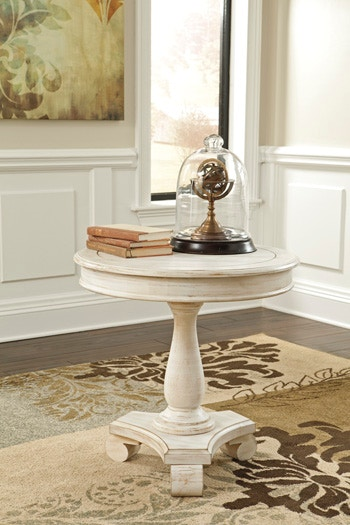 Art Sample Home Round Accent Table 012743871
