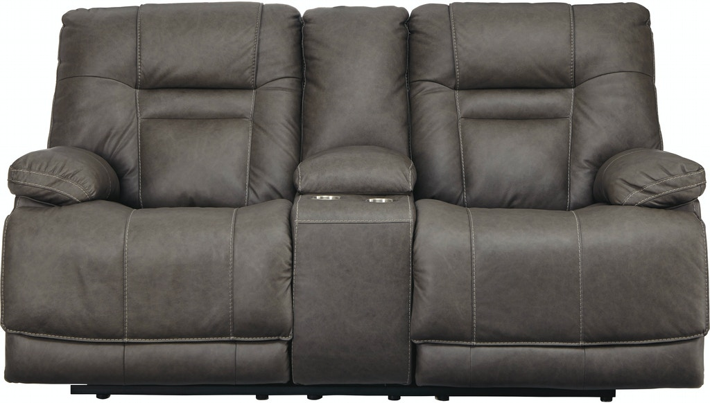 Marvelous Pwr Rec Loveseat Console Adj Hdrst Ibusinesslaw Wood Chair Design Ideas Ibusinesslaworg