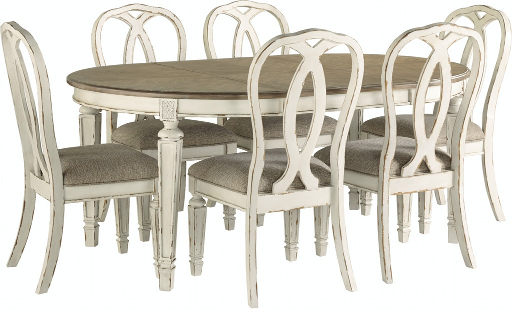 Oval Table And 6 Side Chairs Dining
