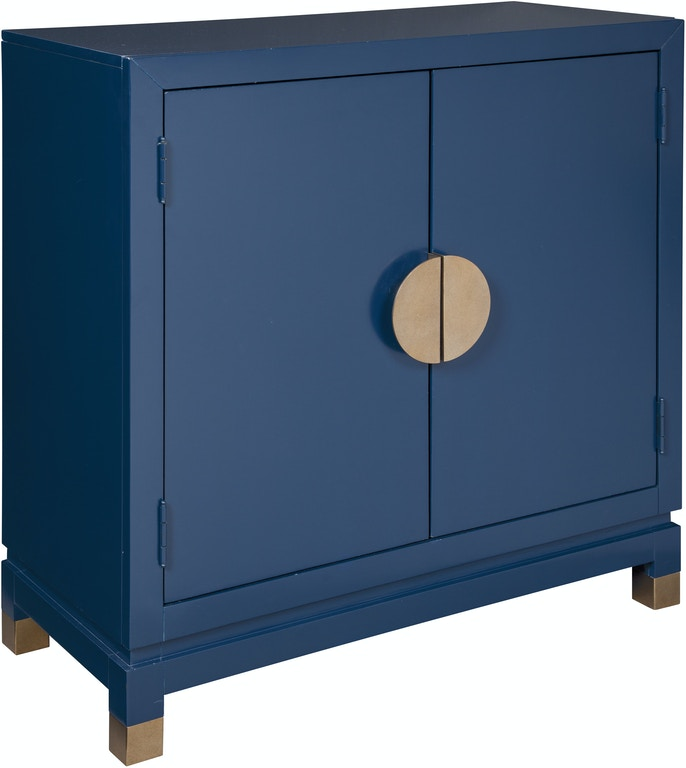 Room Entryway Or Living Brilliant Blue Finish With Goldtone Accents Brings A Fresh Contemporary Twist To Treasured Classic Accent Cabinet