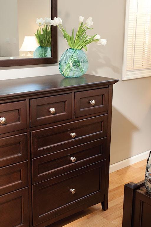 Whittier Living Room Interior Decorator: Whittier Wood Bedroom McKenzie 10-Drawer Dresser 1128CAF