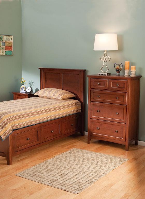 Whittier Living Room Interior Decorator: Whittier Wood Bedroom McKenzie Twin Storage Bed 1300GAC