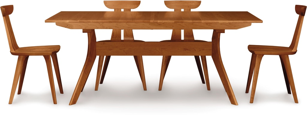 Copeland Audrey Extension Table With Easystow And Leaf Storage In Cherry 6 Aud