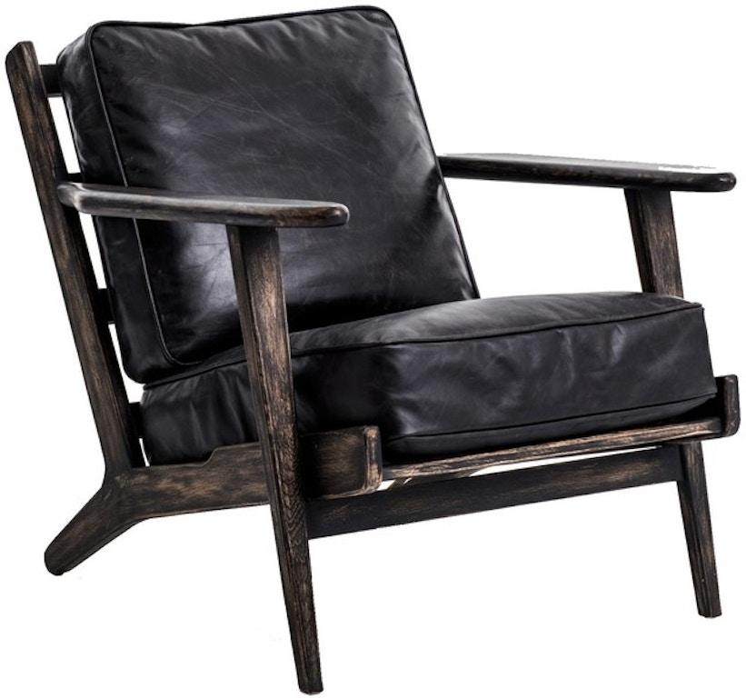 Pleasing Living Room Four Hands Brooks Lounge Chair Cird 72K5 G6H6 Creativecarmelina Interior Chair Design Creativecarmelinacom