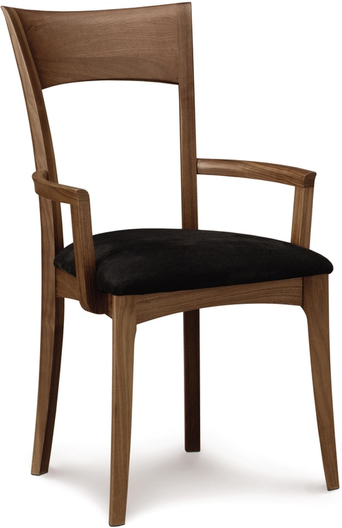 About A Chair 22 Armchair.Copeland Dining Room Ingrid Arm Chair In Walnut With Upholstered