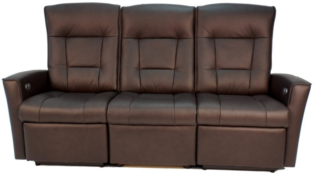Fjords Living Room Ulstein WS Power 3-Seat Reclining Sofa ...