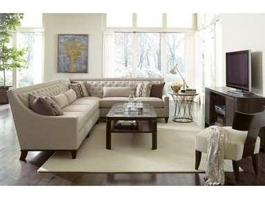 ART Furniture This transitional sectional offers the comfort and style you have been looking for 514511-5001AA