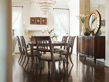 Schnading International The St. James Collection comes with a dining table and 6 chairs. a93