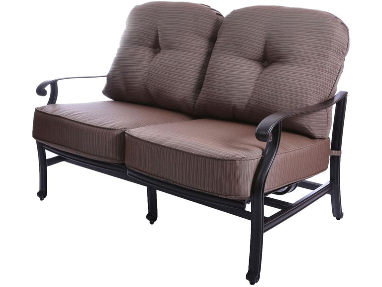 loveseat double mackinac outdoor wicker size cushion cushions glider standard nci
