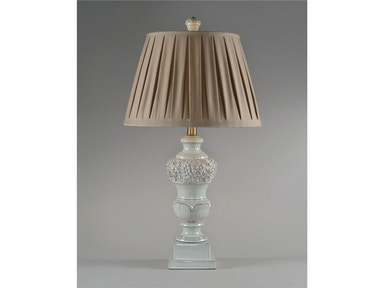 Alabaster Tambour Table Lamp 022445