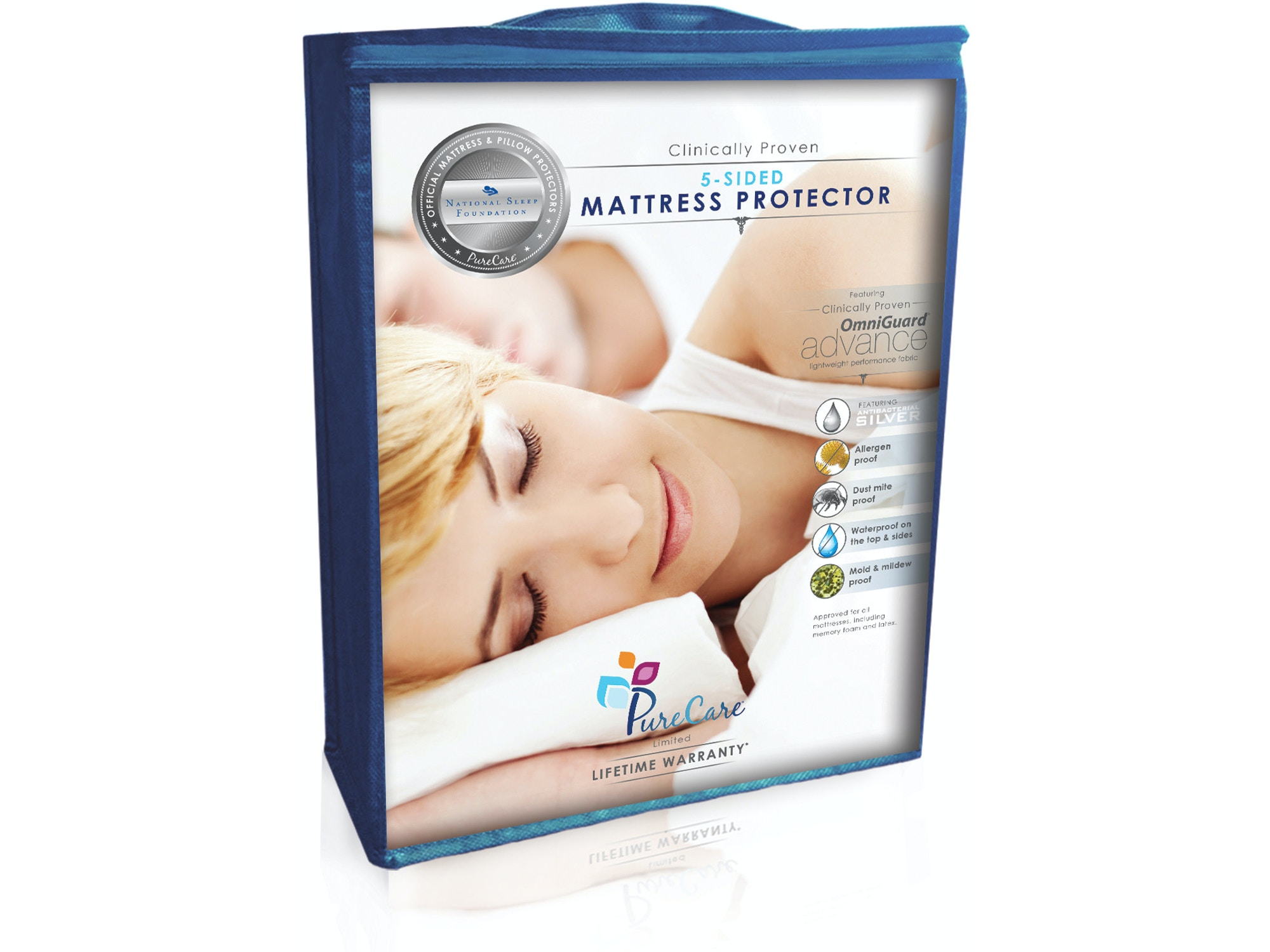 PureCare 5-Sided Mattress Protector - Full XL 028883