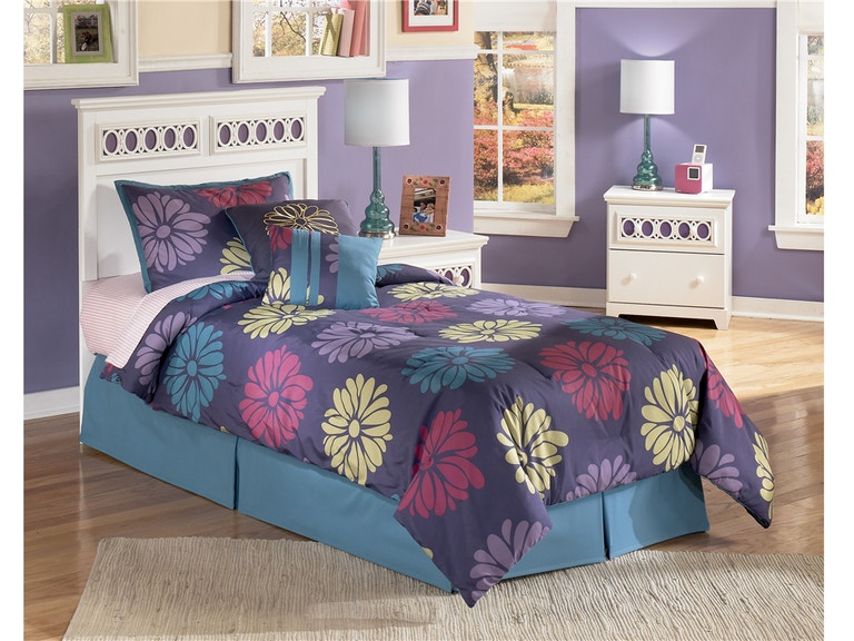 Signature Design by Ashley Youth Bedroom Zayley Storage Lounge Bed ...