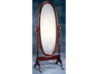 Cherry Cheval Mirror 030554