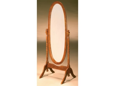 Oak Cheval Mirror 030556