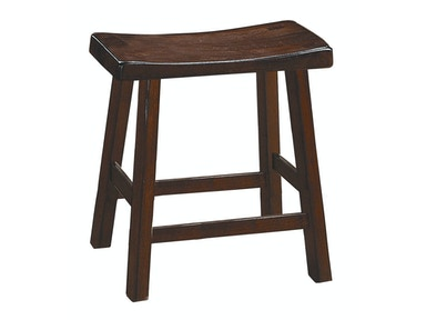 "Solid Wood Stool - Cherry Finish 18"" 031598"