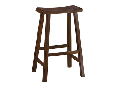 "Solid Wood Stool - Cherry Finish 29"" 031601"