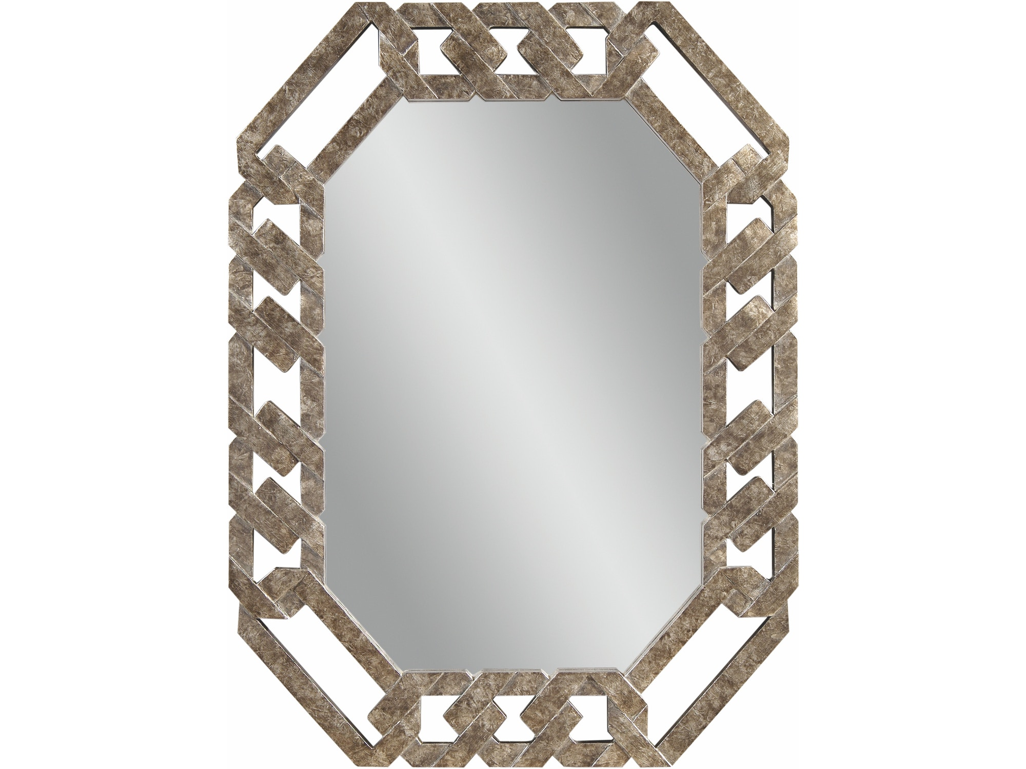 Octagon Wall Mirror 033776