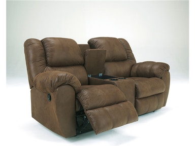 Quarterback Console Reclining Loveseat 038546